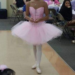 Pink Ballerina Adult Costume Handmade